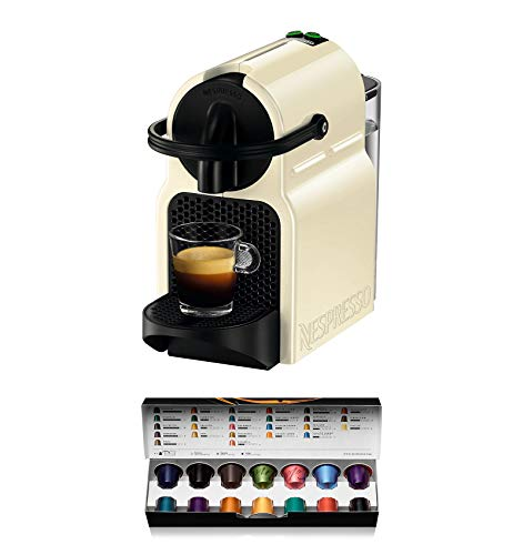 Nespresso Inissia Macchina per caffé espresso, a capsule, 1260 W, 0.7 L, Beige (Vanilla Cream) - 1