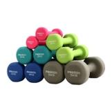 PROIRON Pesi Palestra in Casa Fitness e Palestra Manubri e Pesi Fitness Pesi per Palestra Manubrio (Set di 2) 1-10kg (Verde Scuro-2 x 3KG) - 1