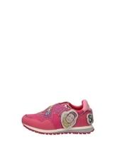 Sneacker da Bambina Liujo in Sintetico Fuxia Modello TX083 Me Contro Te. Scarpa con Stringhe e Applicazioni. Collezione Primavera Estate 2020. EU 36 - 1
