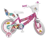 "Toimsa - Bicicletta da Bambina, 14"" (dai 4 ai 7 Anni), Motivo: Principesse Disney - 1"