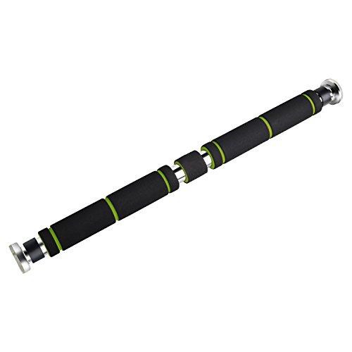 YISSVIC Barra Per Trazioni da Porta 63-95cm Carico 62-105  cm in Accaio - 1
