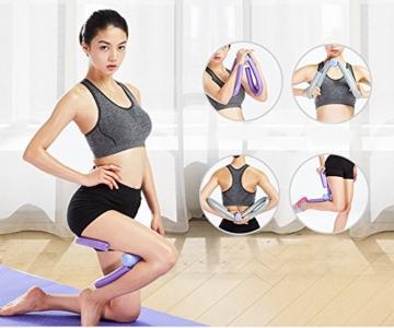 YNXing - Trimmer per cosce per un corpo slanciato, tonificante per cosce, braccia, gambe e glutei, utile per esercizi a casa e in palestra, ideale per la perdita di peso e per slanciare le cosce, 1, Scarpette a strappo Voltaic 3 Velcro Fade - Bambini - 2
