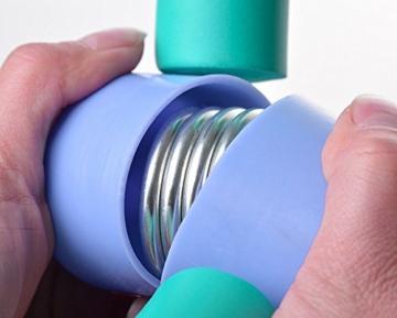 YNXing - Trimmer per cosce per un corpo slanciato, tonificante per cosce, braccia, gambe e glutei, utile per esercizi a casa e in palestra, ideale per la perdita di peso e per slanciare le cosce, 1, Scarpette a strappo Voltaic 3 Velcro Fade - Bambini - 4