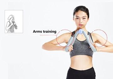 YNXing - Trimmer per cosce per un corpo slanciato, tonificante per cosce, braccia, gambe e glutei, utile per esercizi a casa e in palestra, ideale per la perdita di peso e per slanciare le cosce, 1, Scarpette a strappo Voltaic 3 Velcro Fade - Bambini - 6