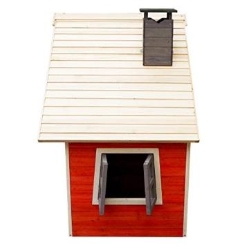 Casetta Giocattolo Ecologica per Bambini in Legno di Abete Rosso Casa di Legno Giardino - 2