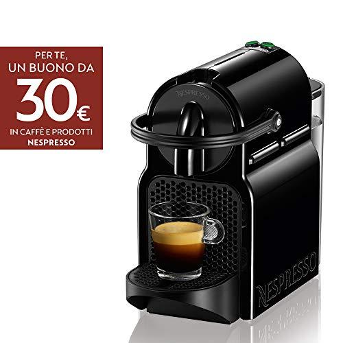De'Longhi Nespresso Inissia EN80.B Macchina per caffè espresso, a capsule, 1260 W, 1 Tazza, 14 Decibel, 19 bar, Plastica, Nero (Black) - 1