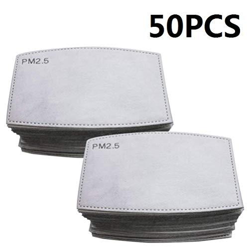 Guarnizione antiappannamento diserbo PM2.5 elemento filtrante protezione carbone attivo protezione antinquinamento antiappannamento 50 PZ - 1