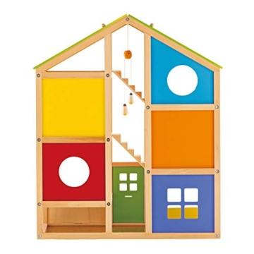 Hape- Casa 4 Stagioni Arredata Giocatollo, Multicolore, E3401 - 7