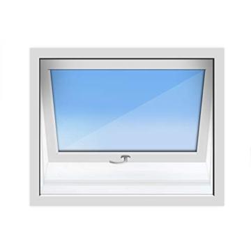 HOOMEE 300CM Guarnizione Universale per Finestre per Condizionatore Portatile, Asciugatrice – Per Tutti Climatizzatori Mobili, Facile da Montare – Con zip, Chiusura a Strappo - 2