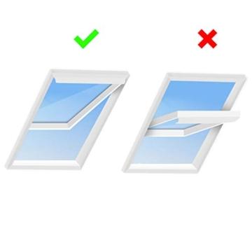 HOOMEE 300CM Guarnizione Universale per Finestre per Condizionatore Portatile, Asciugatrice – Per Tutti Climatizzatori Mobili, Facile da Montare – Con zip, Chiusura a Strappo - 5