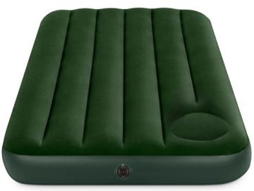 Intex 66927 - Materasso, Pvc-Poliestere, Verde, 99x191x22 cm - 1