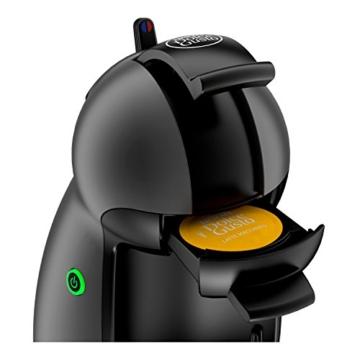 Krups KP100B Nescafé Dolce Gusto Piccolo - Macchina per Caffé Espresso in capsule e Altre Bevande, 1500 W, 15 BAR Nero (Antracite) - 3