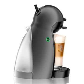 Krups KP100B Nescafé Dolce Gusto Piccolo - Macchina per Caffé Espresso in capsule e Altre Bevande, 1500 W, 15 BAR Nero (Antracite) - 4