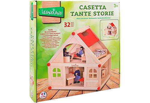 Legnoland- Casa delle Bambole Tante Storie, 1 - 1