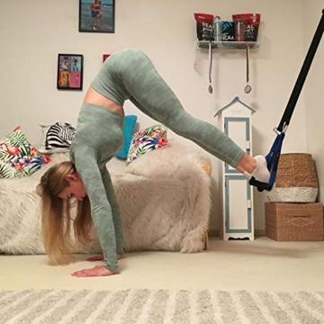 PhysioFit Suspension Trainer - attrezzi palestra casa - cavi palestra - palestra casa - attrezzi da palestra - attrezzi fitness casa - kit palestra in casa - Include Video con oltre 30 Esercizi - 5