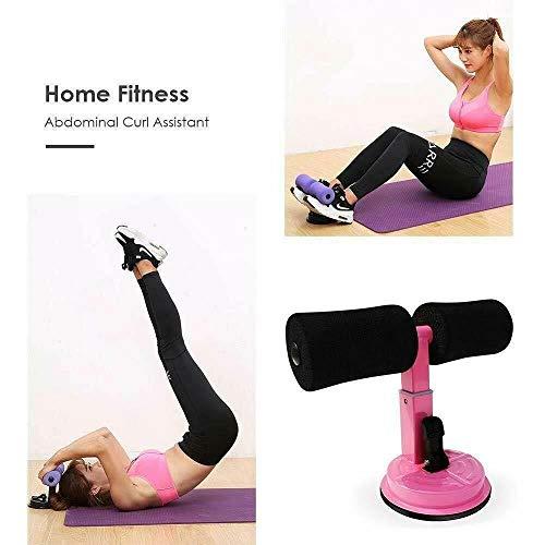 Trade Shop - ATTREZZO per Addominali Fitness Ventosa Sport Spugna Caviglie Curl Push UP Sit - 17260 - 1