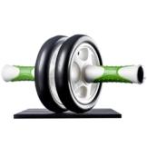 Ultrasport Attrezzo per addominali AB Roller / Trainer AB incl. supporto per le ginocchia, allenamento addominali per uomini e donne, anche per persone anziane, trainer muscolare pieghevole - 1