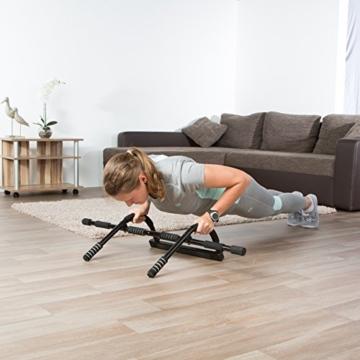 Ultrasport Barra per sollevamento Training da porta, barra per sollevamento, allenamento del torace, trainer multifunzione, attrezzo per torace casa e ufficio, pull up bar, flessioni, vari esercizi - 3