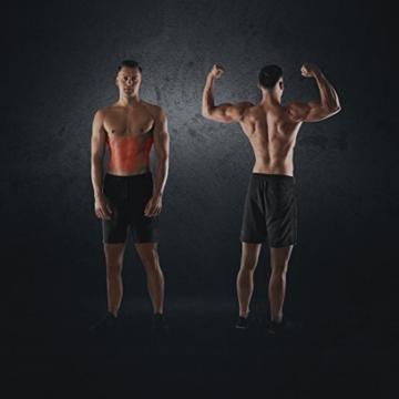 Ultrasport Trainer Addominali Ultra 150 - Power AB Trainer, Attrezzo Fitness per Casa, per Dimagrire, Allenare i Muscoli, Schiena e Spalle, Pieghevole, Quadruplo Regolabile, Nero, 128 x 54 x 16 cm - 4