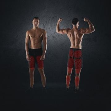Ultrasport Up-Down-Stepper, per fitness e aerobica, ministepper con computer di allenamento e gradini spaziosi, home trainer per addome, gambe, glutei, Fitness Stepper per casa e ufficio - 6