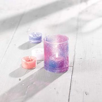 Yankee candle Tea Light Candele Profumate 12 Pezzi Baby Powder, Cera, Bianco, 2.1x6x5.8 cm - 4