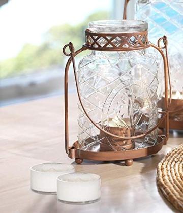 Yankee candle Tea Light Candele Profumate 12 Pezzi Baby Powder, Cera, Bianco, 2.1x6x5.8 cm - 8