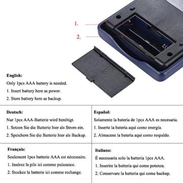 Aibecy Calcolatrice Scientifica - 240 Funzioni e 2 Display LCD Linea per Ufficio / Medio Studenti Delle Scuole Superiori ,SAT/AP Calculate Counter - 3