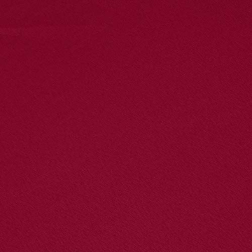 AmazonBasics - Lenzuolo con angoli in microfibra, 90x190x30cm, Bordeaux - 6