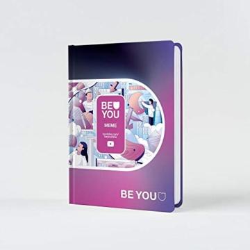 Be You - Diario 2020/2021 - Meme Easy colore dark mode - Giochi Preziosi - 1