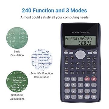 Calcolatrice Scientifica Calcolatrice Economica Elettronica - Calcolatrice Informatica Scuola Matematica, Calcolatrice Finanziaria l'Università, Calcolatrice Scientifico per Esami di Maturità - 2