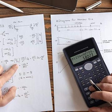 Calcolatrice Scientifica Calcolatrice Economica Elettronica - Calcolatrice Informatica Scuola Matematica, Calcolatrice Finanziaria l'Università, Calcolatrice Scientifico per Esami di Maturità - 5