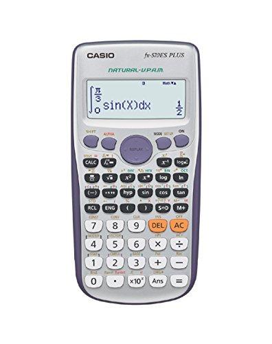 Casio FX-570 ES PLUS Calcolatrice Scientifica con 417 Funzioni e Display Naturale - 1