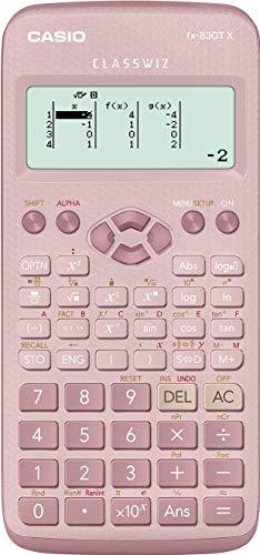 Casio FX-83GTX - Calcolatrice scientifica, colore: Rosa - 1