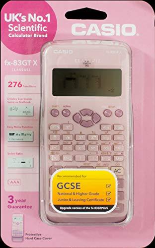 Casio FX-83GTX - Calcolatrice scientifica, colore: Rosa - 3