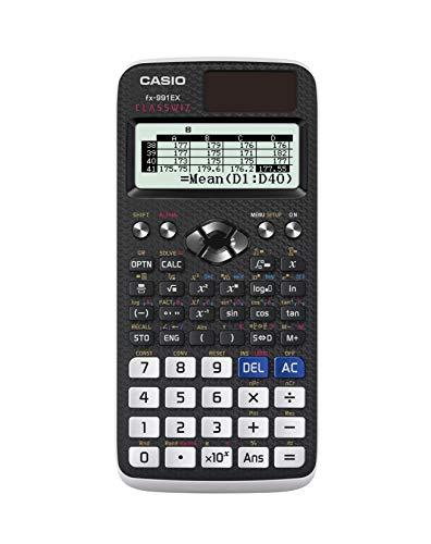 CASIO FX-991EX calcolatrice scientifica - 552 funzioni, doppia alimentazione - 1