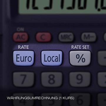 CASIO HS-8VER calcolatrice tascabile - Display a 8 cifre ed euroconvertitore - 2