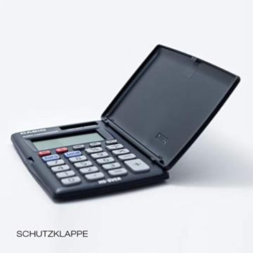 CASIO HS-8VER calcolatrice tascabile - Display a 8 cifre ed euroconvertitore - 5