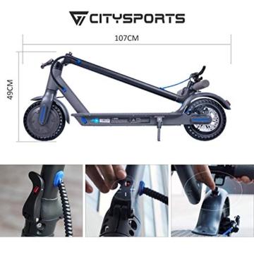 CITYSPORTS Monopattino Scooter elettrico 8.5