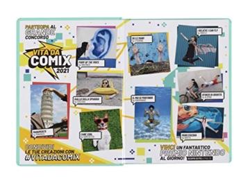 Comix - Diario 2020/2021 16 Mesi - Black&White - Mini - 2