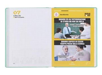 Comix - Diario 2020/2021 16 Mesi - Charcoal - Standard - 5