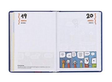 Comix - Diario 2020/2021 16 Mesi - Comix Scottecs by Sio colore Blu - Medium - 2