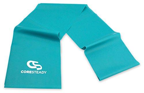 Coresteady Fasce di Resistenza Terapeutiche | Bande Fitness di Alta qualità per Pilates, Yoga, Allenamento di Forza, Fisioterapia e Riabilitazione - Ideali per Uomini e Donne - 1