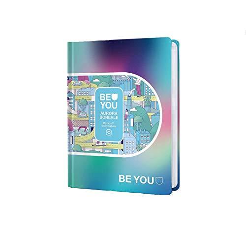 Diario Agenda Scuola Be You Aurora Boreale 2020/2021 Datato 12 Mesi Standard 18x13 cm + Penna Colorata Omaggio - 1