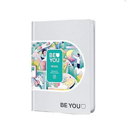 Diario Agenda Scuola Be You Original Bianco Pearl 2020/2021 12 Mesi Pocket 16x12 cm + Penna Colorata Omaggio - 1