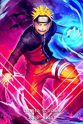 Diario Scuola 2020 2021 Manga: Agenda giornaliera 2020-2021 | Uso del tempo | Calendario ecc - Studente e allievo (elementare, college, liceo) - 1