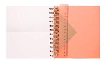 Diario Scuola Giornaliero 2020/2021 Kraft, 11 mesi, daily planner, 14x16 cm - 5