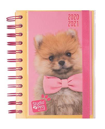 Diario Scuola Giornaliero 2020/2021 Studio Pets Dog, 11 mesi, 11,4x16 cm - 1