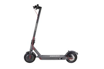 Ducati PRO 1 Plus Monopattino Elettrico Pieghevole, Monopatino Unisex-Youth, Nero, One Size - 2