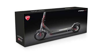 Ducati PRO 1 Plus Monopattino Elettrico Pieghevole, Monopatino Unisex-Youth, Nero, One Size - 5