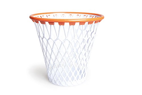 Excelsa Basket Cestino Canestro Gettacarta, Polipropilene, Bianco - 1
